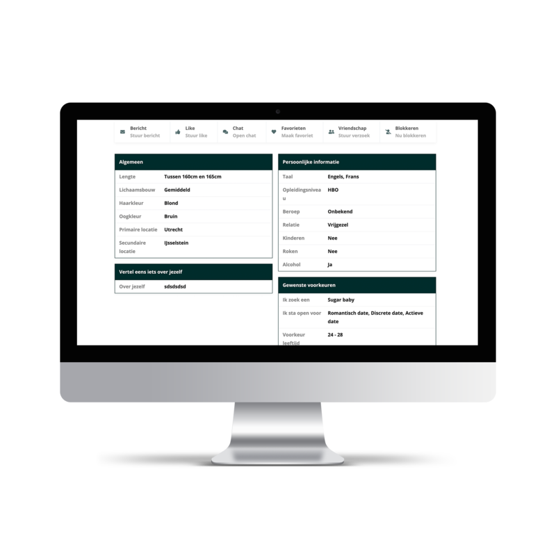 Profielen platform ontwikkelen
