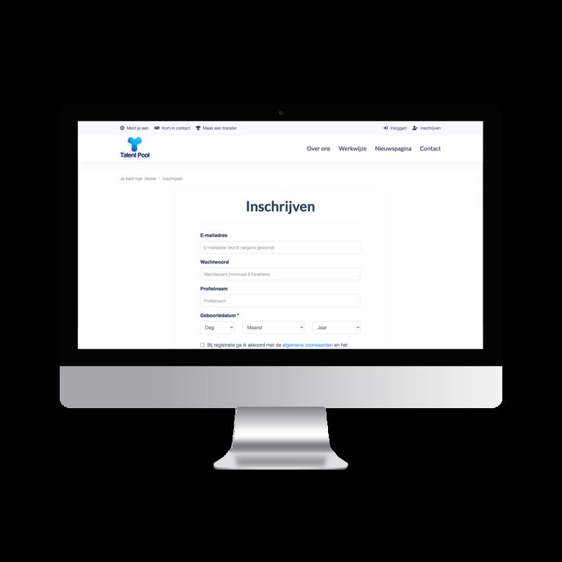 online laten platform ontwikkelen scouting