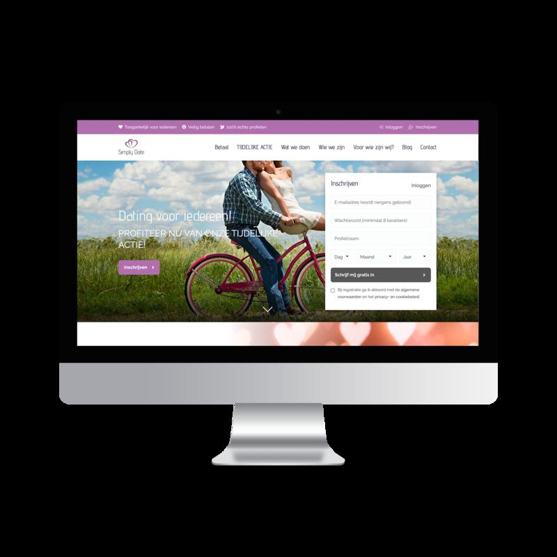 Online contact platform bouwen