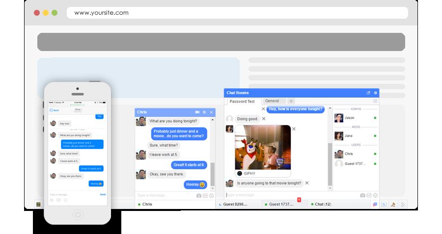 Chatsite opzetten